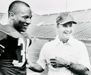Bo Jackson and Coach Pat Dye