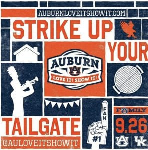 Strike Up Your Tailgate Image