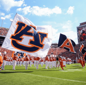 Times, TV Networks Announced for 3 Auburn Games