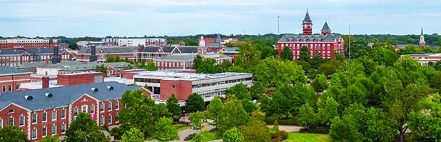 Auburn University Samford Hall Landscape image
