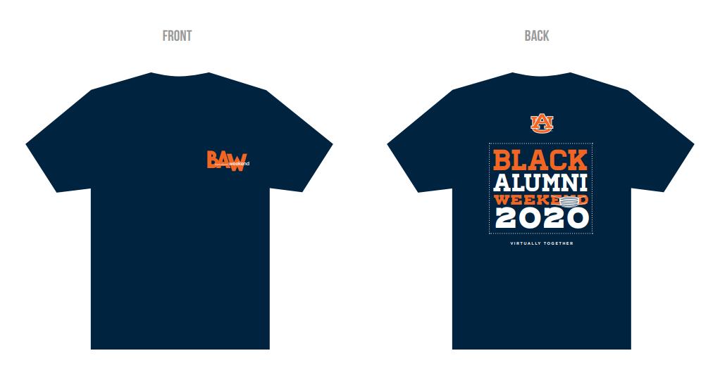 Black Alumni Week 2020 T-shirt
