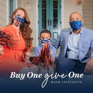 Buy One, Donate one Auburn Alumni Mask