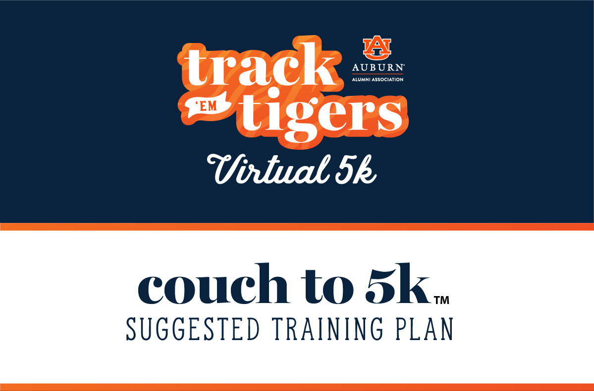 Couch to 5K Suggested Training Plan