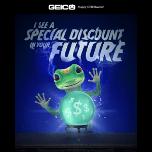 Geico Ad graphic