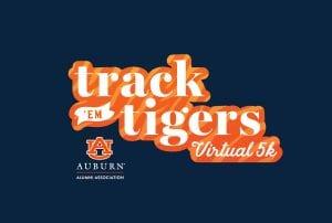 Track em Tigers Virtual 5K header