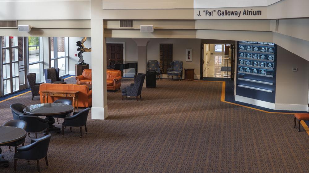 Auburn Alumni Center Atrium 2
