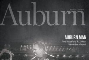 Auburn Alumni Fall 2020 Magazine cover