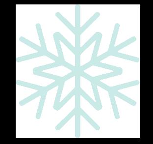 snowflake decorative graphic