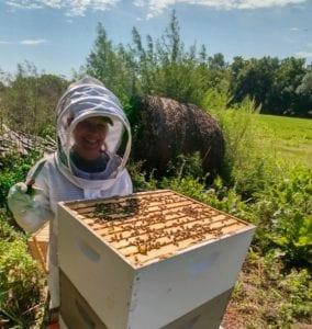 Beekeeping with Amber