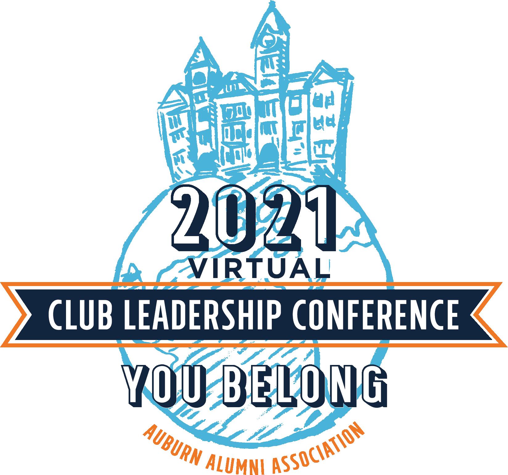 Virtual Club Leadership Conference Graphic