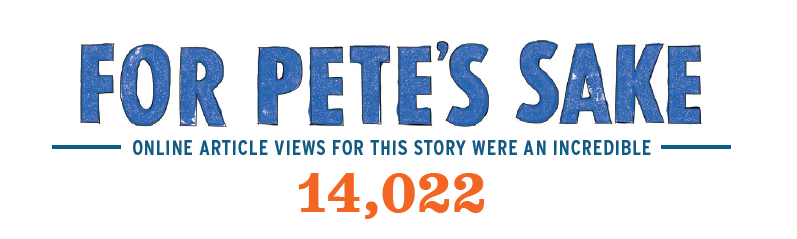 Pete's Sake Article read 14022 times online graphic