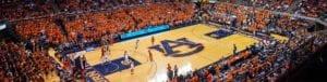 Auburn Alumni Shop Basketball Theme Header