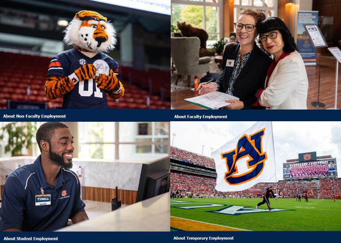 Auburn University Job Opportunity Header