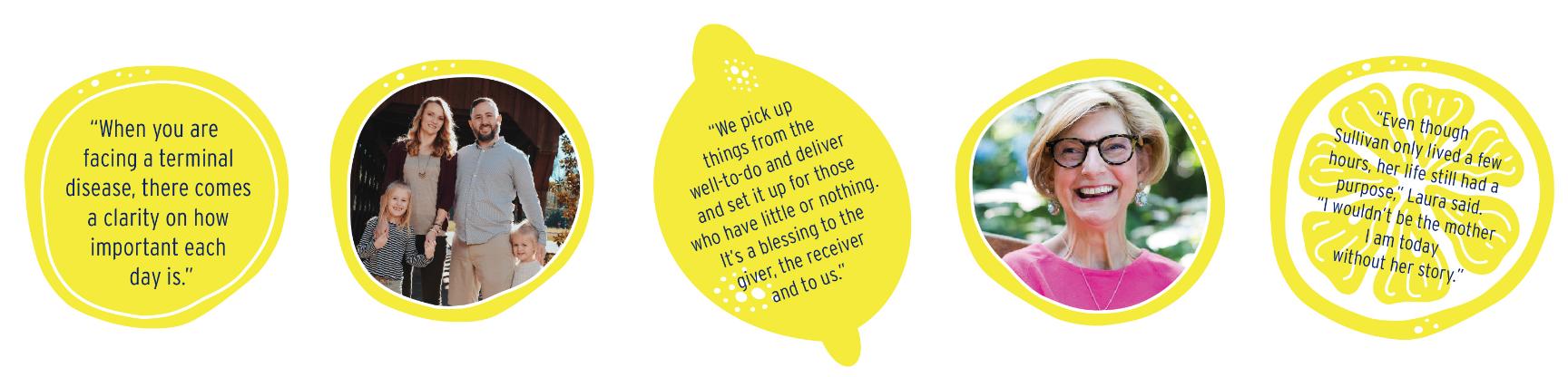 Lemons to lemons story graphics