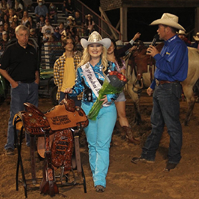 Miss Limestone Sheriff's Rodeo Crowning