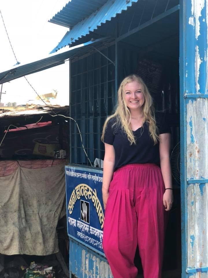 At a Border Monitoring Station in Nepal