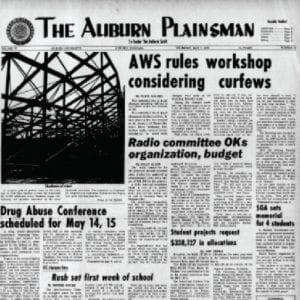 Auburn Plainsman Thursday, May 7, 1971