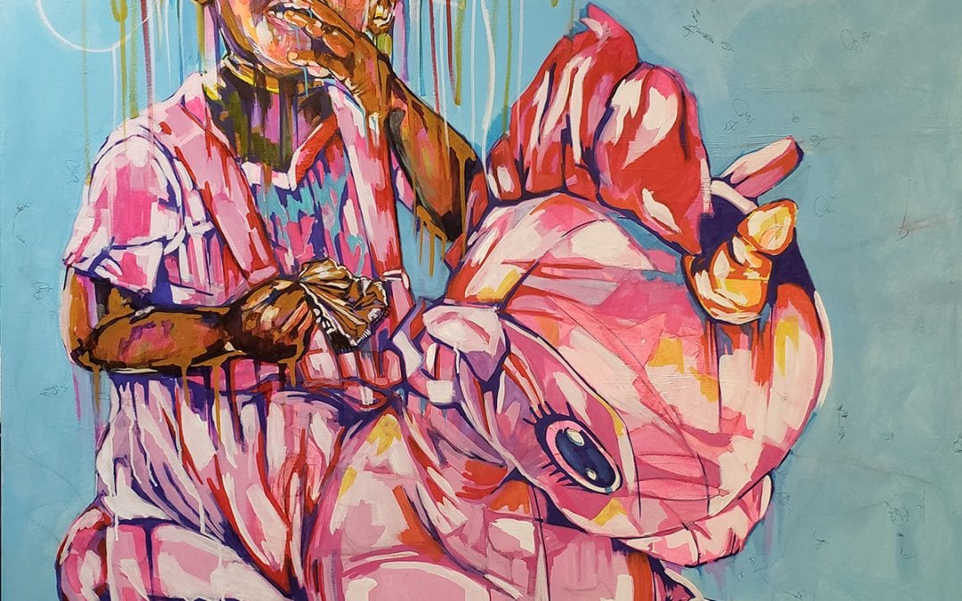 The Eye of the Artist: Lynthia Edwards '00