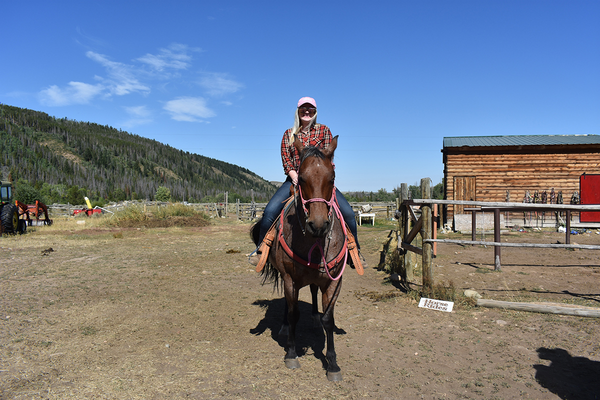 Cowgirl Courage: Abigail Benz '19