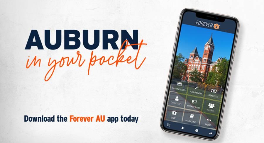 Forever AU app graphic