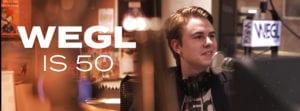 WEGL is 50 graphic