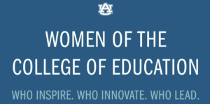 Women of the College of Education graphic