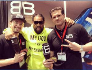 Bradley Hall, Stason Strong and Fatman Scoop in Las Vegas