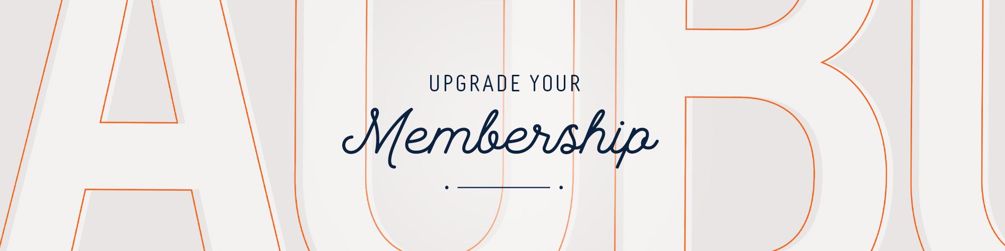 Upgrade Membership Graphic
