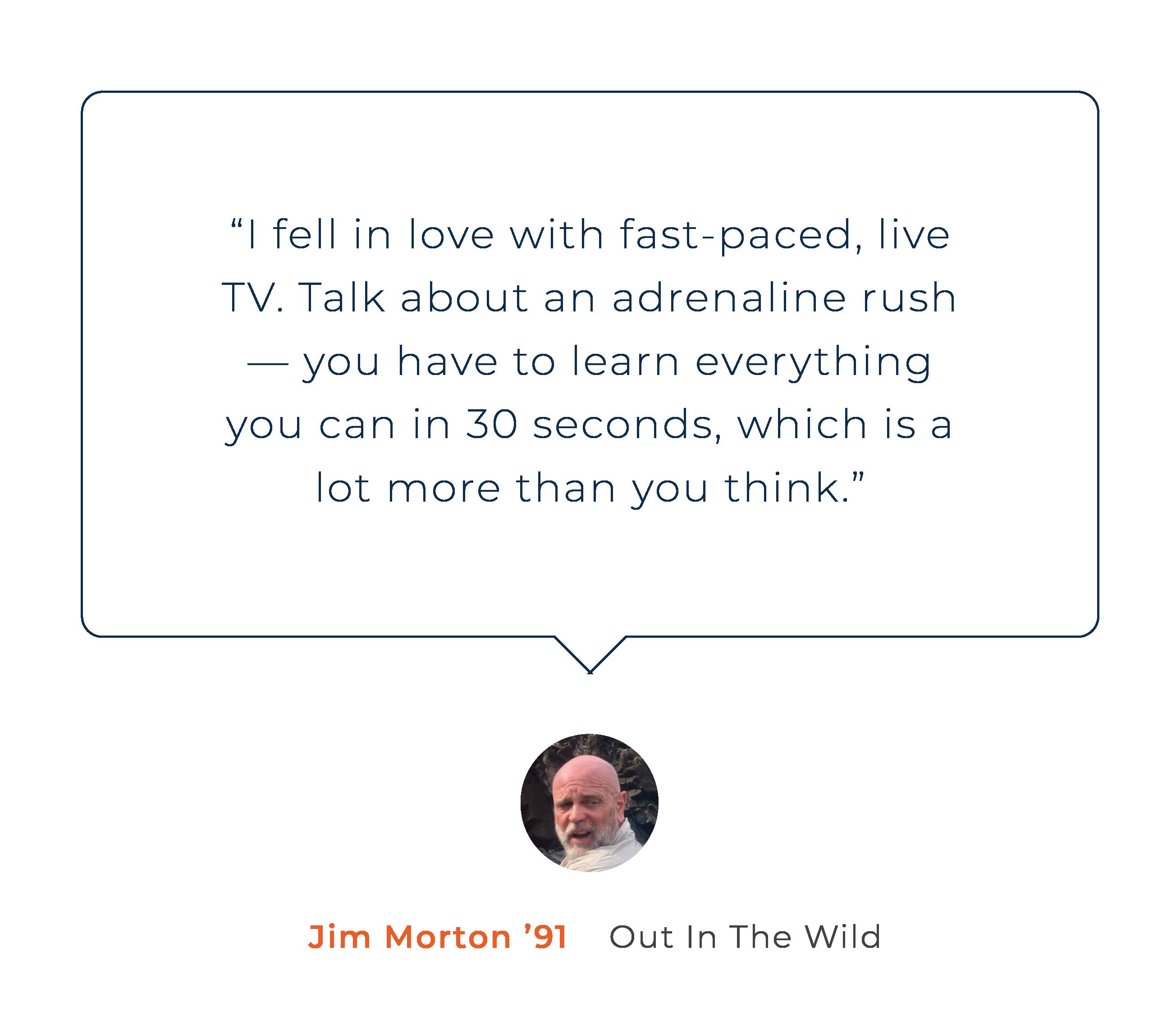 Jim Mortan Alumni Story