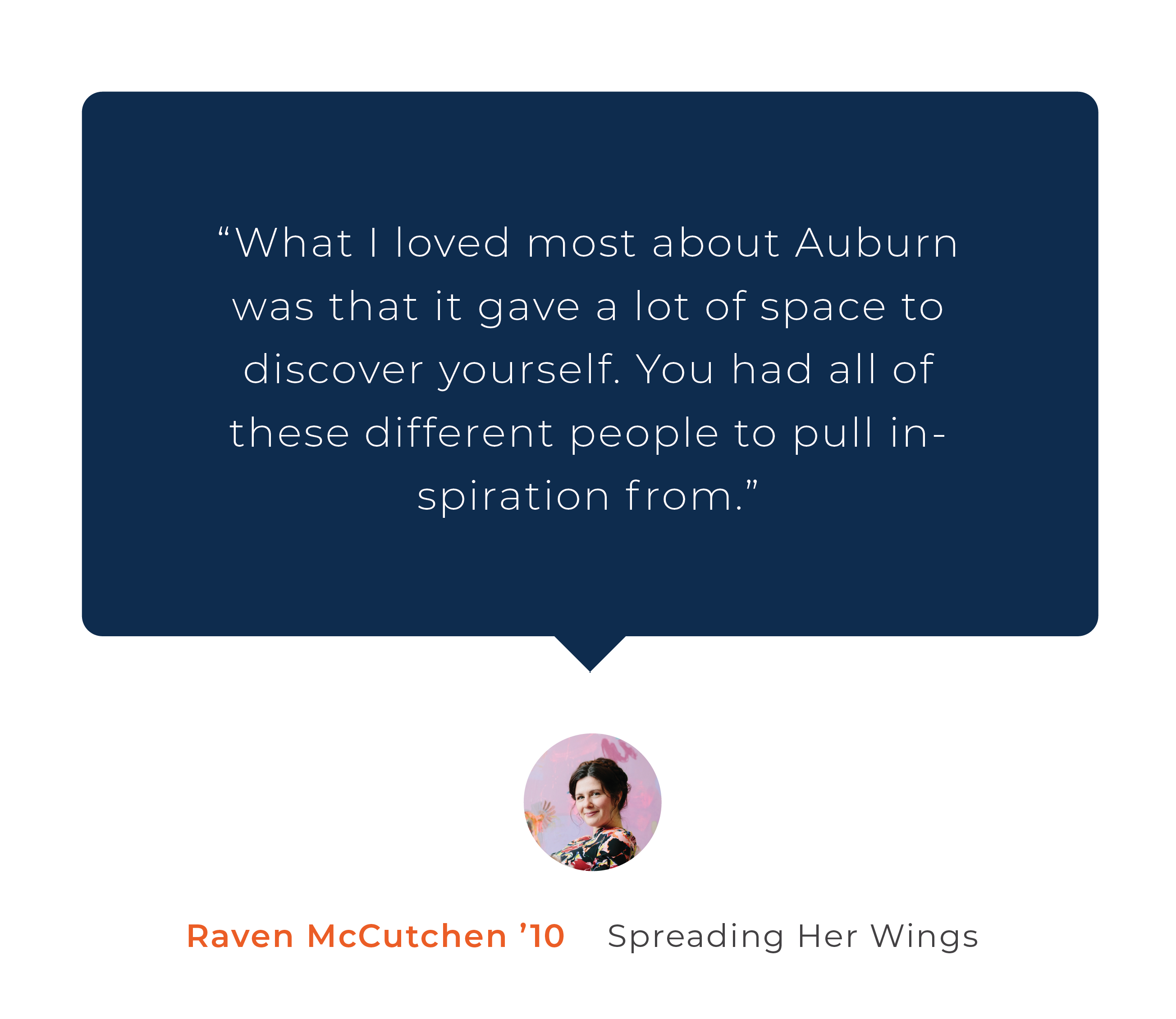Raven McCutchen Alumni Story