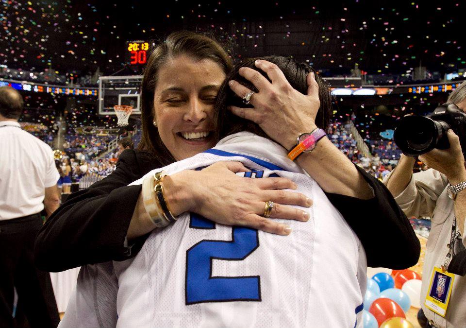 Celebrating Duke's ACC Championship