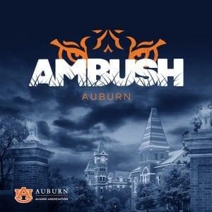 AMBUSH in Auburn graphic