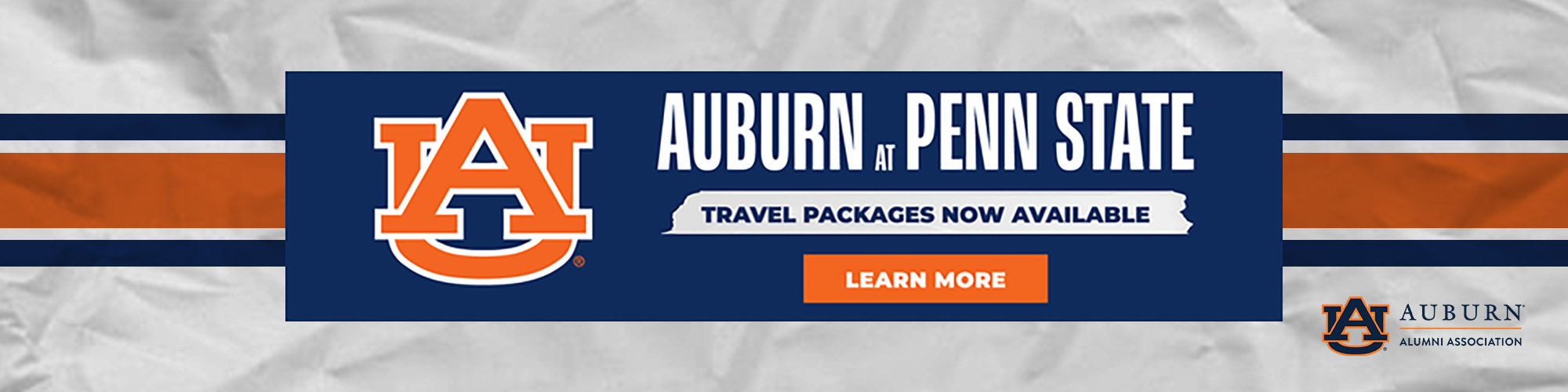 Auburn at Penn State Anthony Travel tickets available
