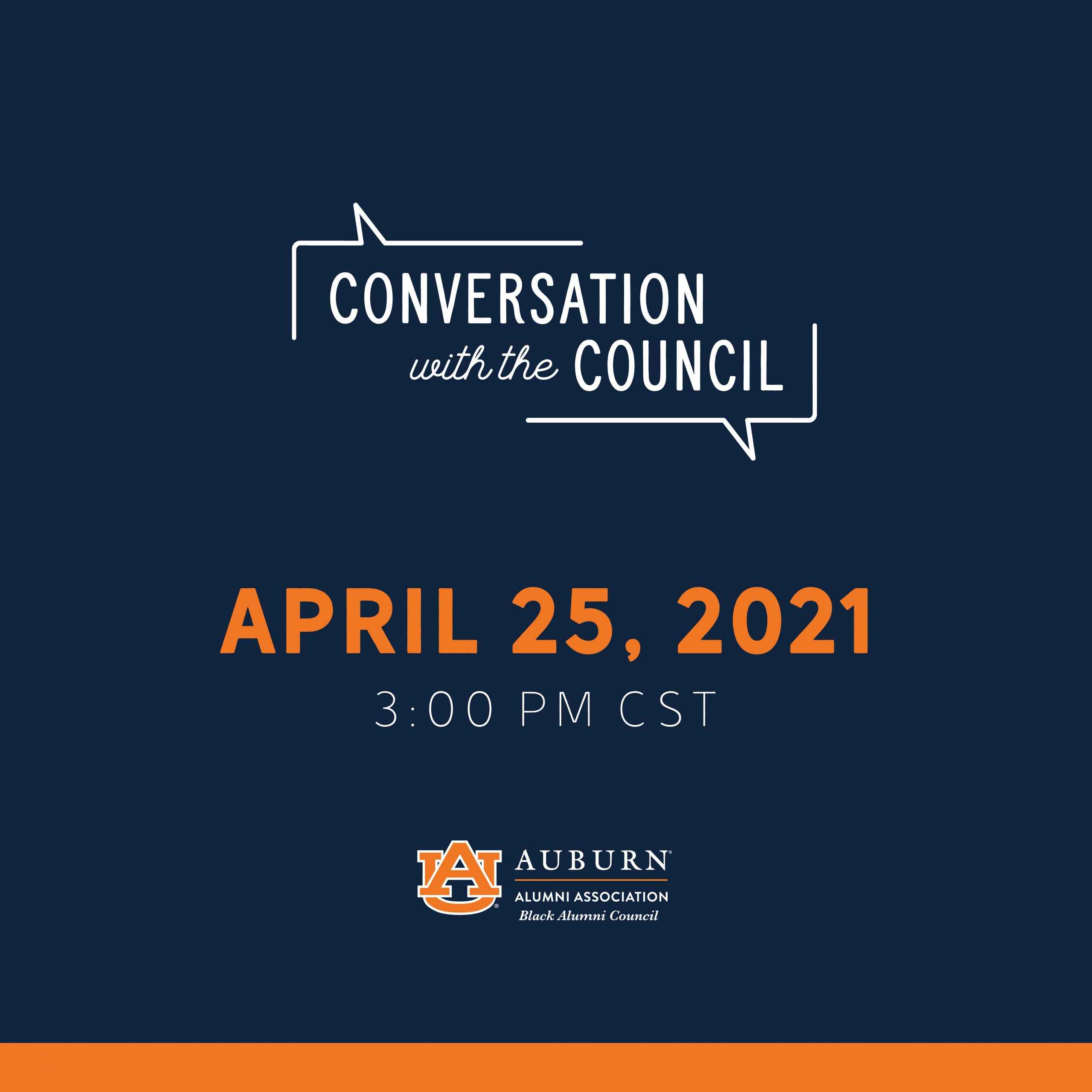 Conversation with Council graphic