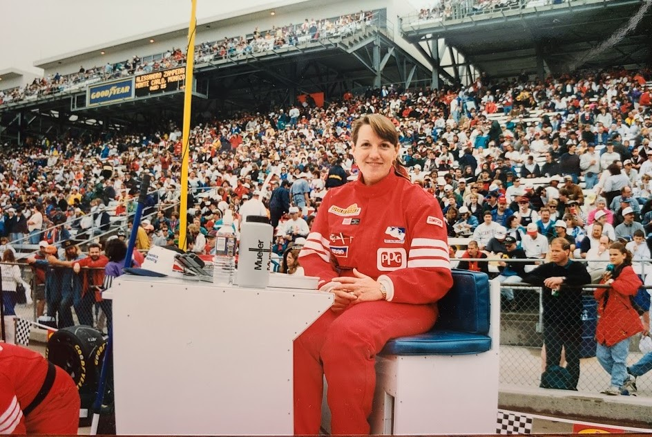 Back on the Track: Lee Anne Patterson '85