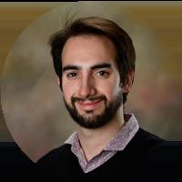 A profile shot of Derek Herscovici