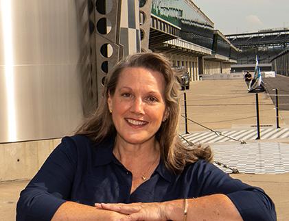 Lee Anne Patterson '85 @ IMS Speedway