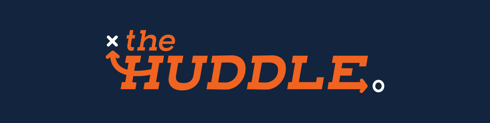 The Huddle Header graphic