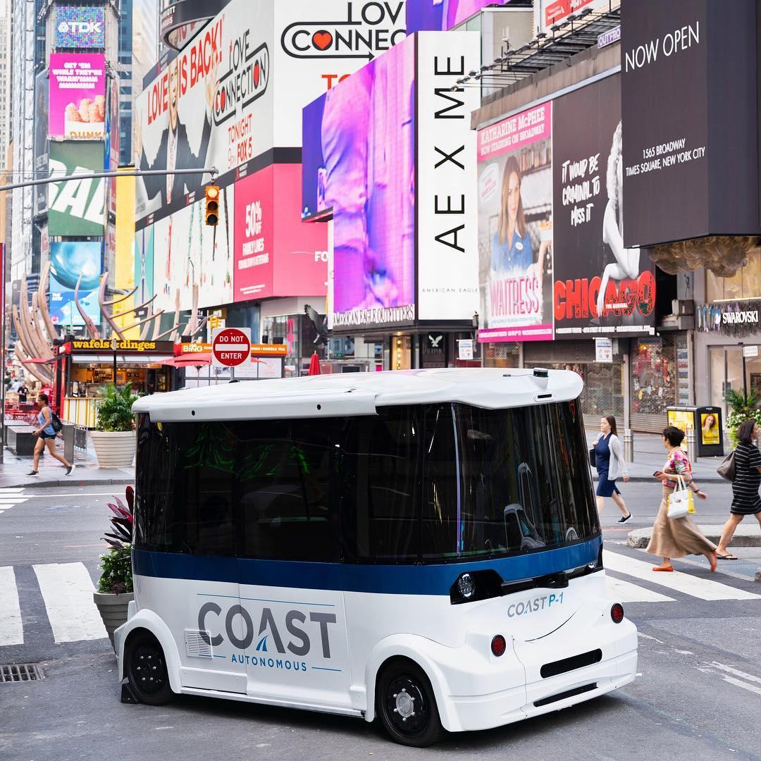 Self Driving Shuttle from Coast Autonomous