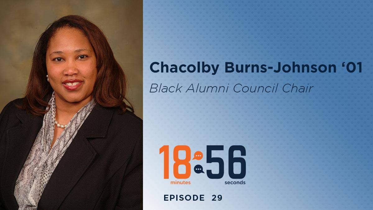 Chacolby Burns-Johnson was a guest on the 1856 speaker series