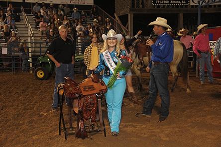 Miss Limestone Sheriff's Rodeo Queen Coronation