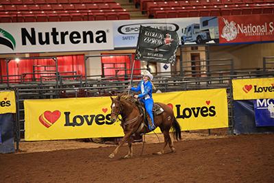 At Miss Rodeo USA