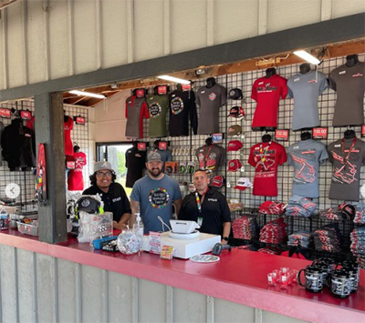 The new store at Mid-Ohio Sports Car Course