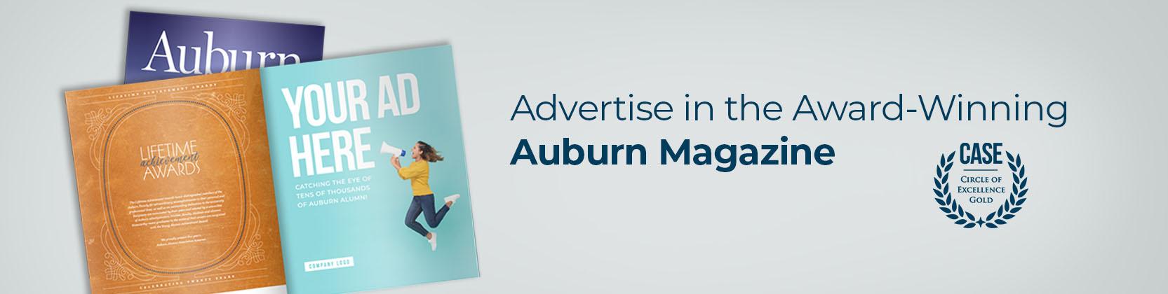 advertise with Auburn magazine