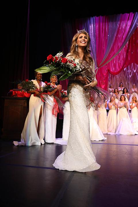 Lauren Bradford is crowned