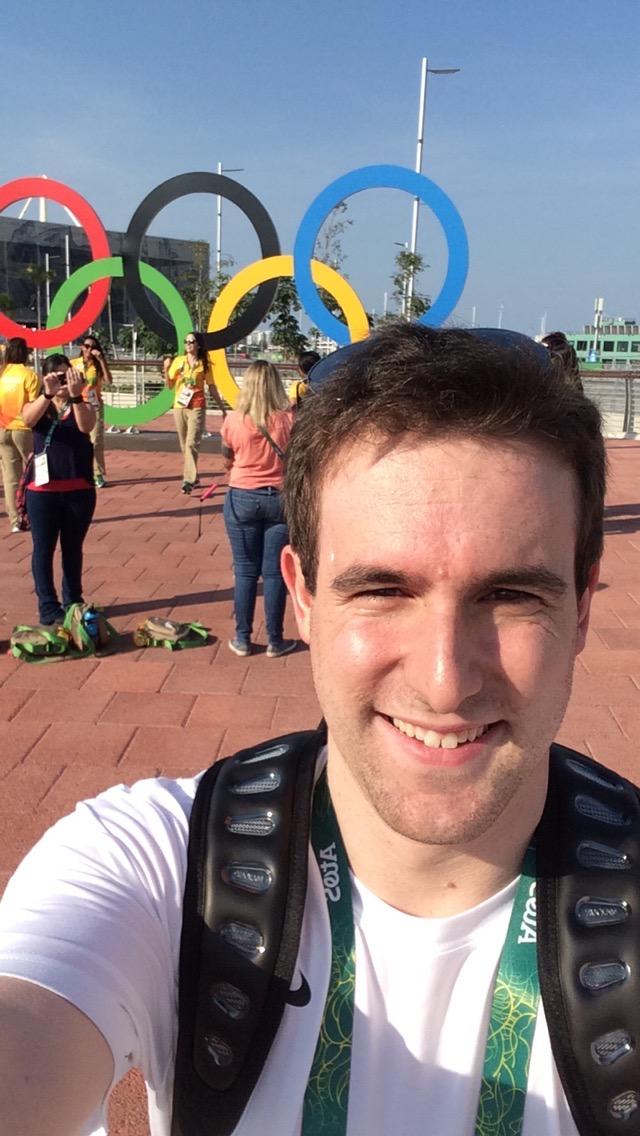 Adam Richelieu at the 2016 Rio Olympics