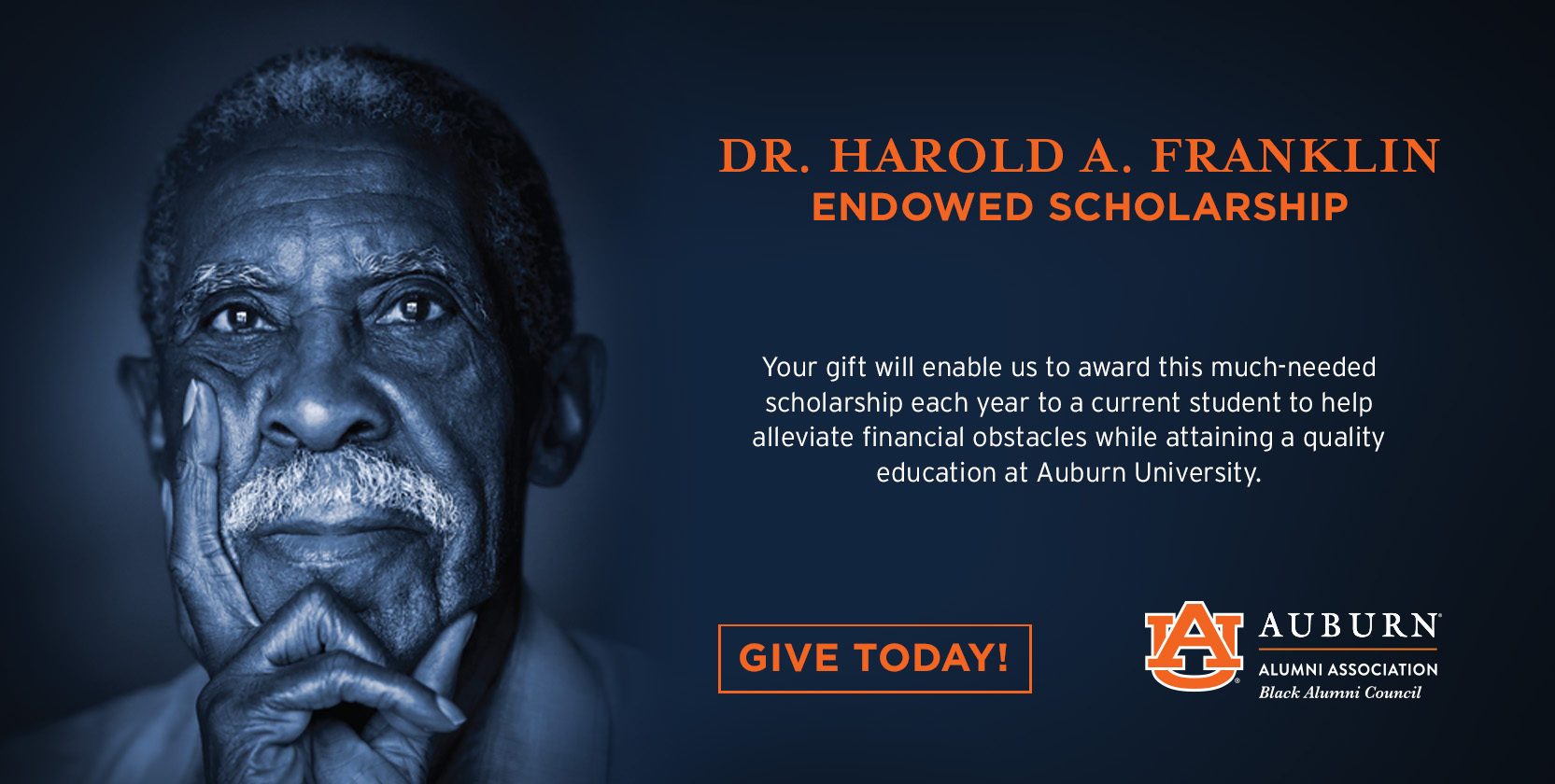 Harold Franklin Scholarship Give Now