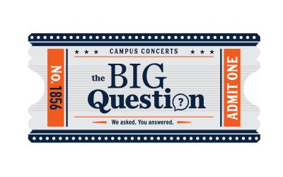 Campus Concerts: The Big Question