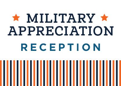 Military Appreciation Reception