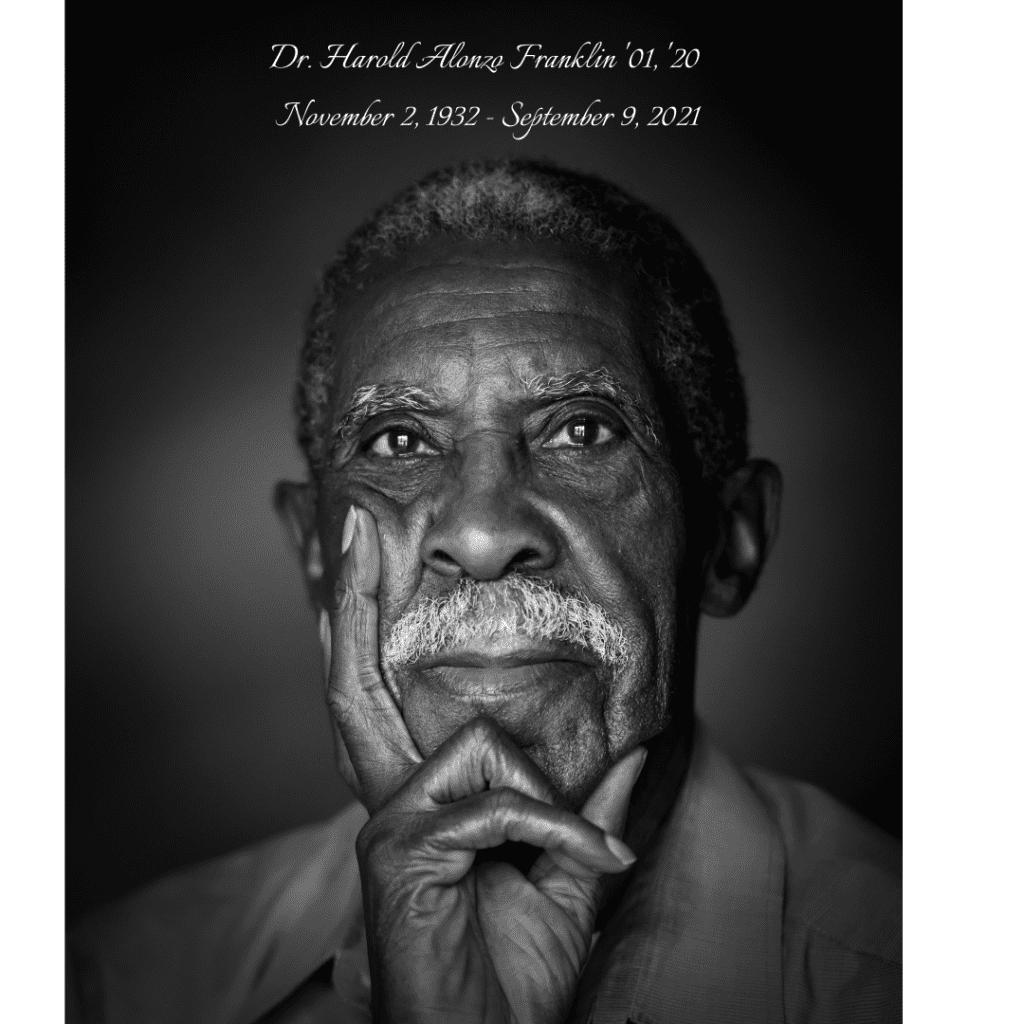headshot of Harold Franklin with black background